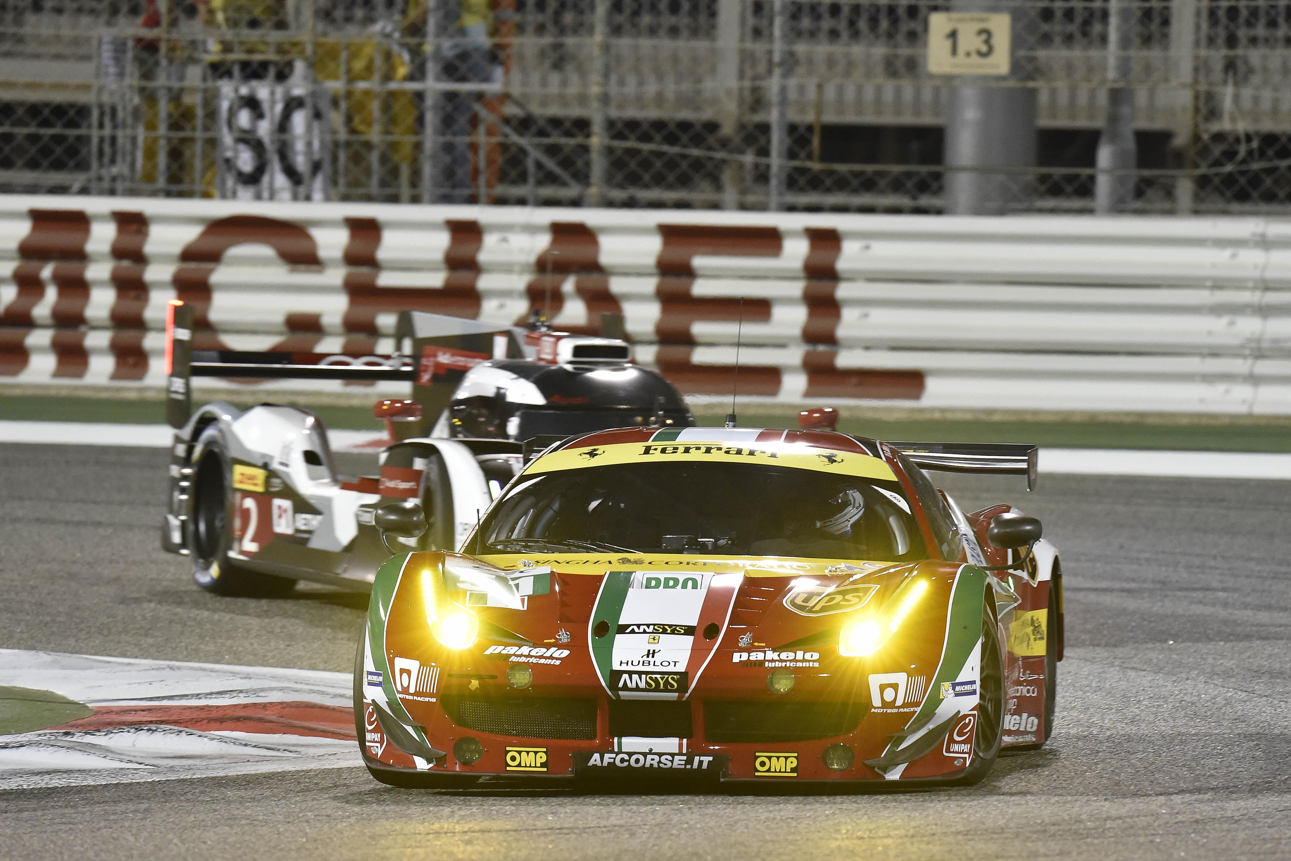 FIA WEC: 2° e 3° crono per le Ferrari nelle qualifiche in Bahrain
