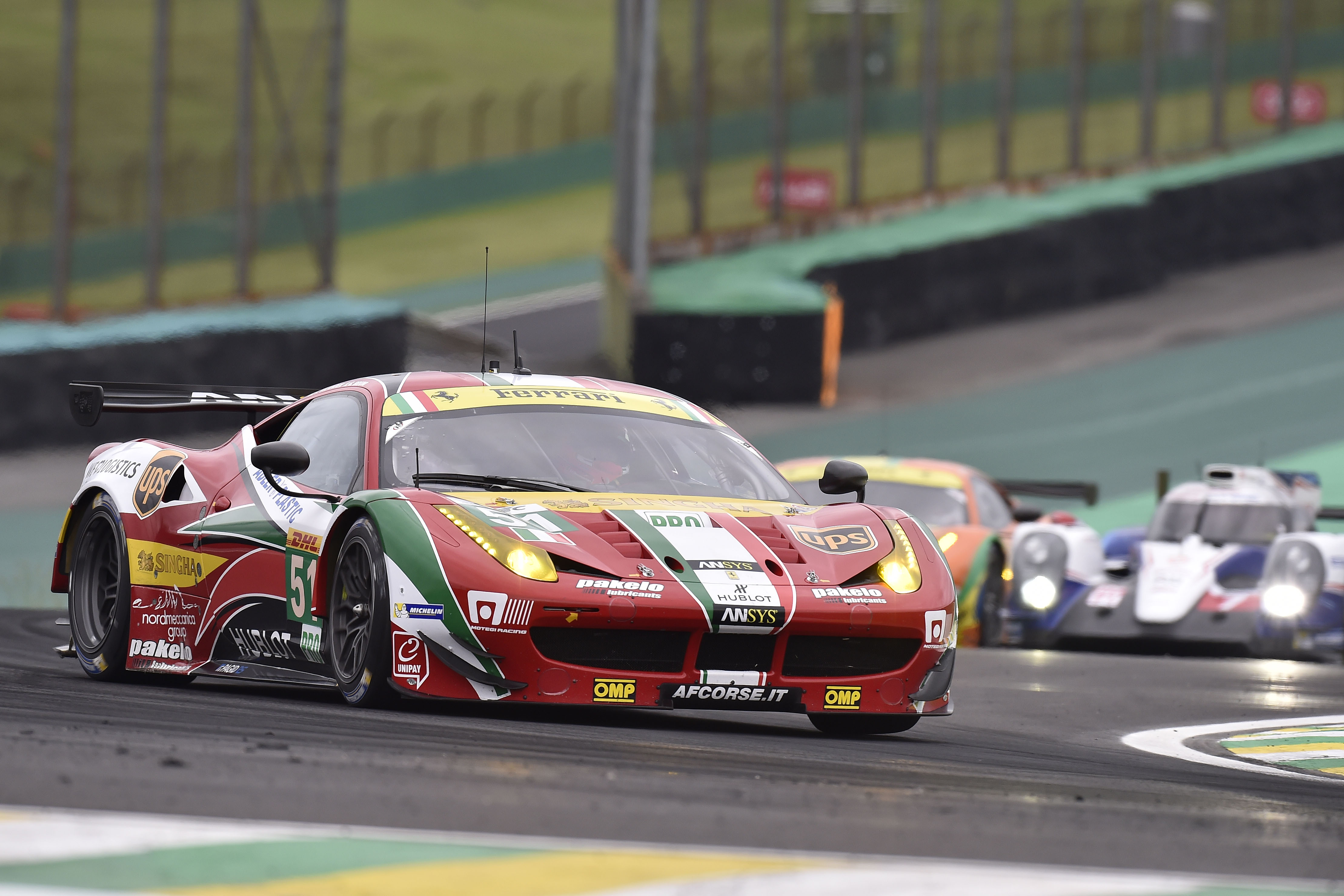 FIA WEC: qualifiche amare per la Ferrari in Brasile