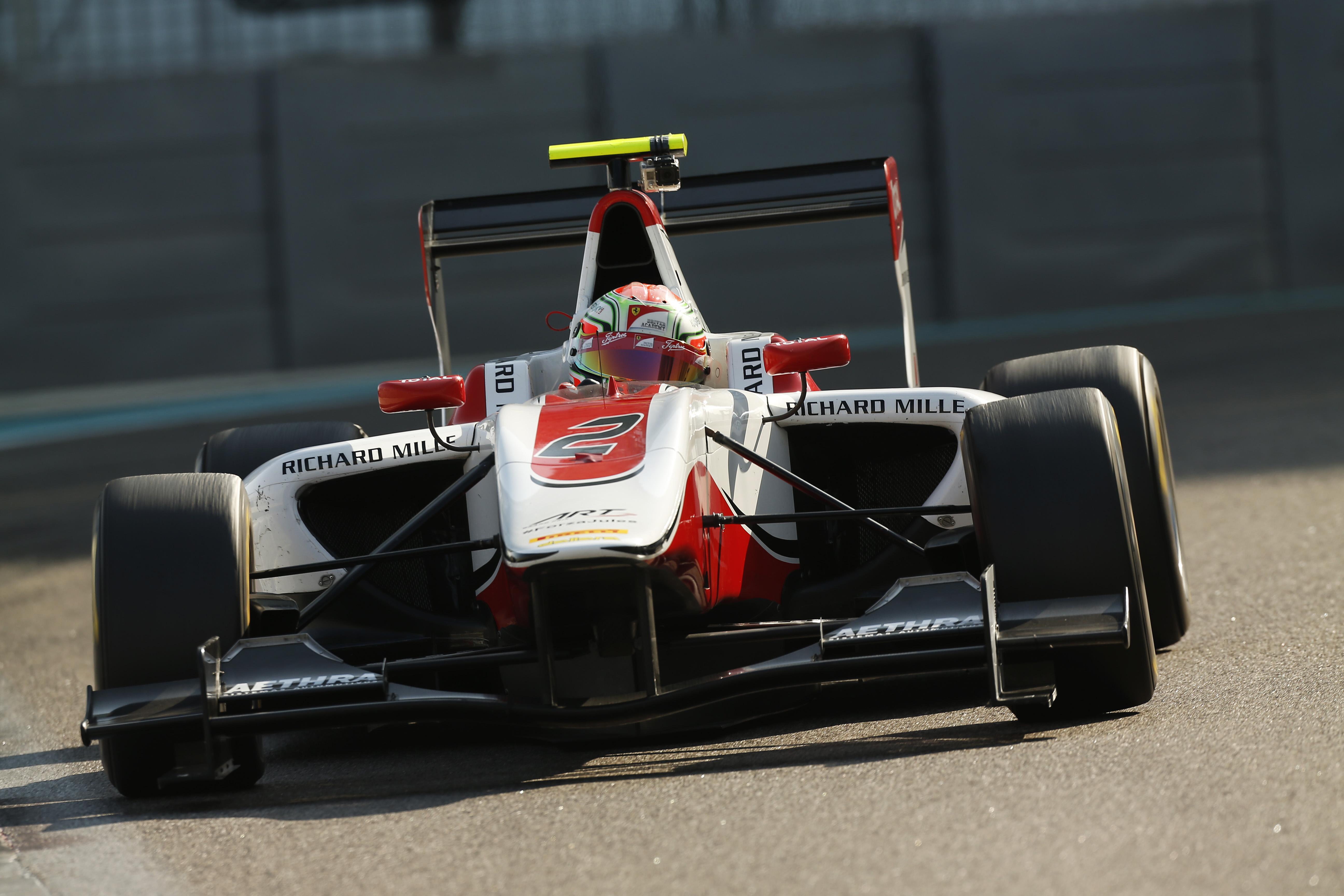 GP3: per Antonio Fuoco è subito feeling!