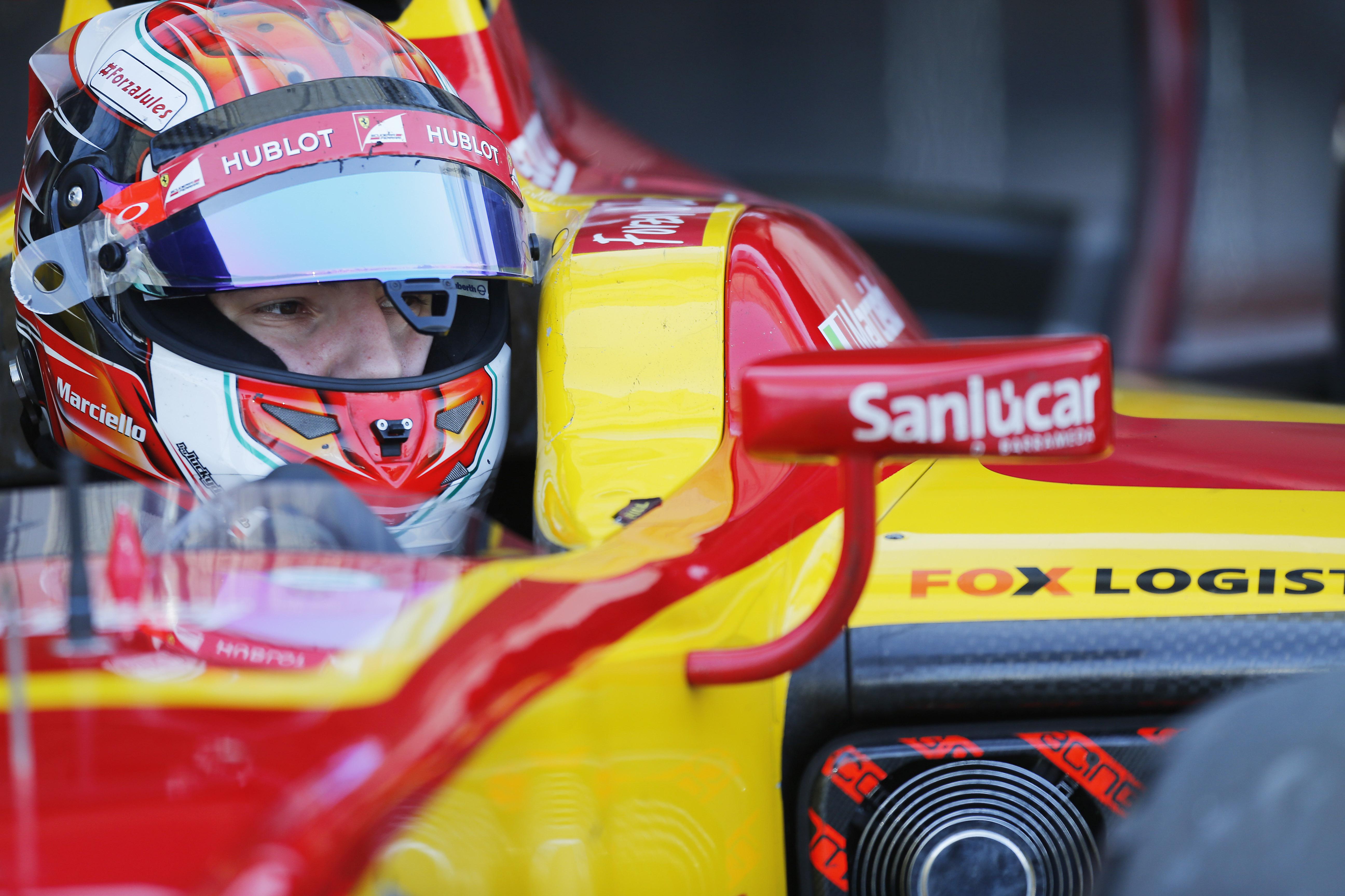 Marciello ritrova la GP2 Series