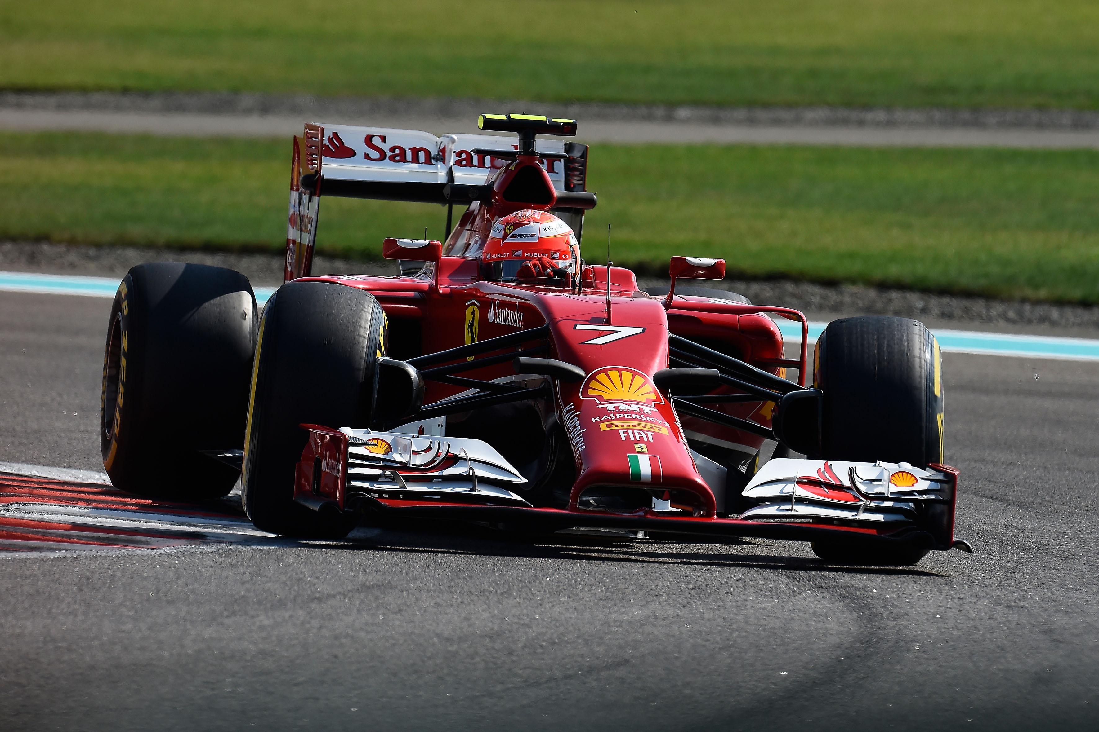 Test ad Abu Dhabi: in pista Raikkonen e Marciello