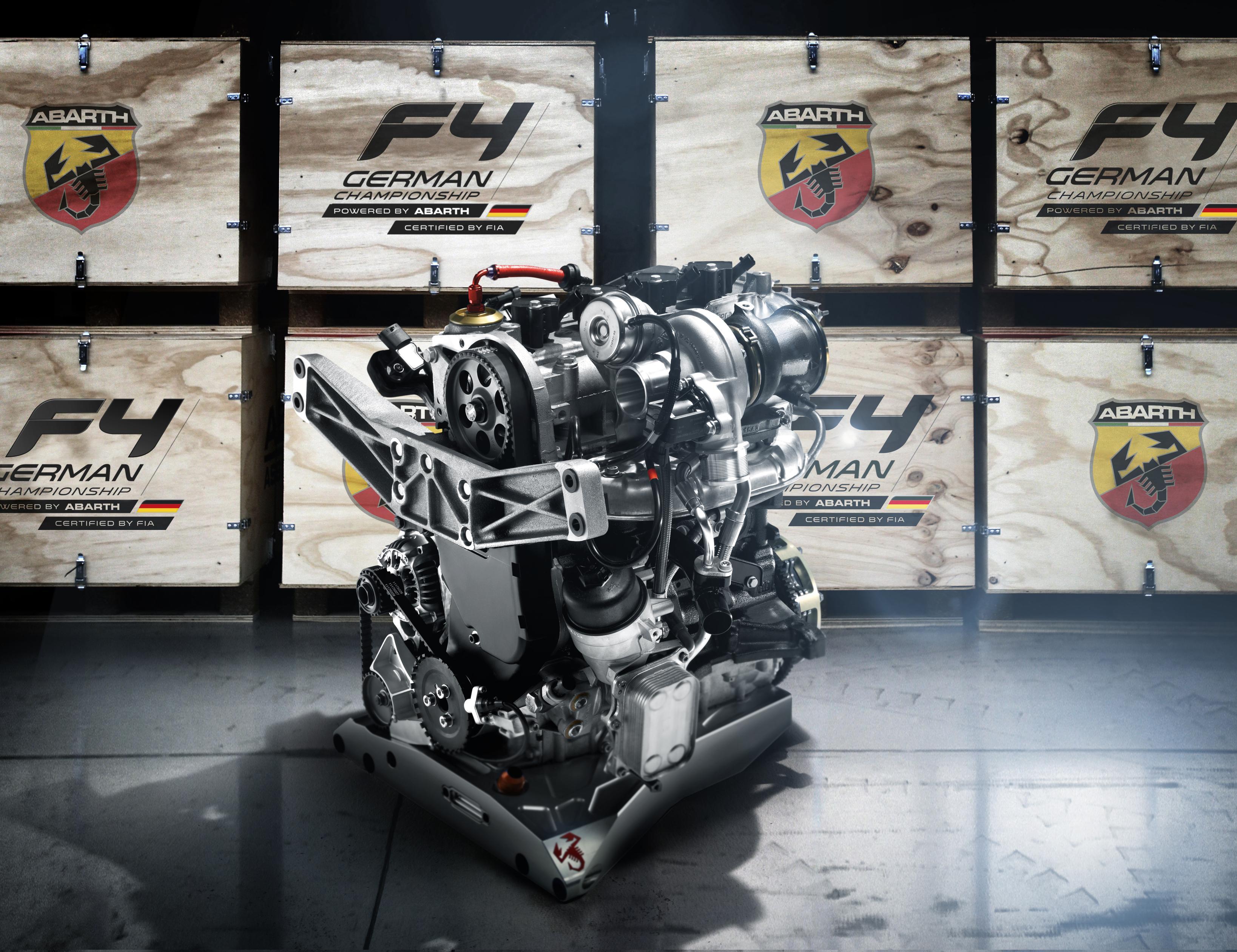 Abarth fornirà i motori per l'ADAC Formula 4 in Germania