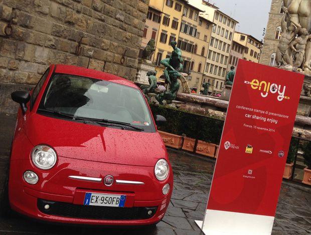 "Arriva a Firenze ""Enjoy"", il car sharing targato Eni"