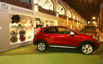 Fiat 500X: accessori e servizi esclusivi firmati MOPAR