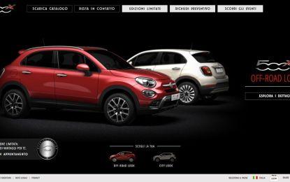 Fiat 500X: negli showroom e nelle più belle piazze d'Italia
