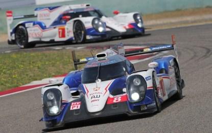 WEC: Toyota Racing domina in Cina