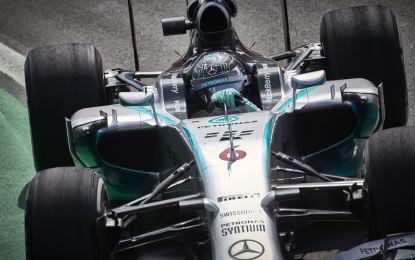 Brasile: Nico Rosberg in pole a Interlagos