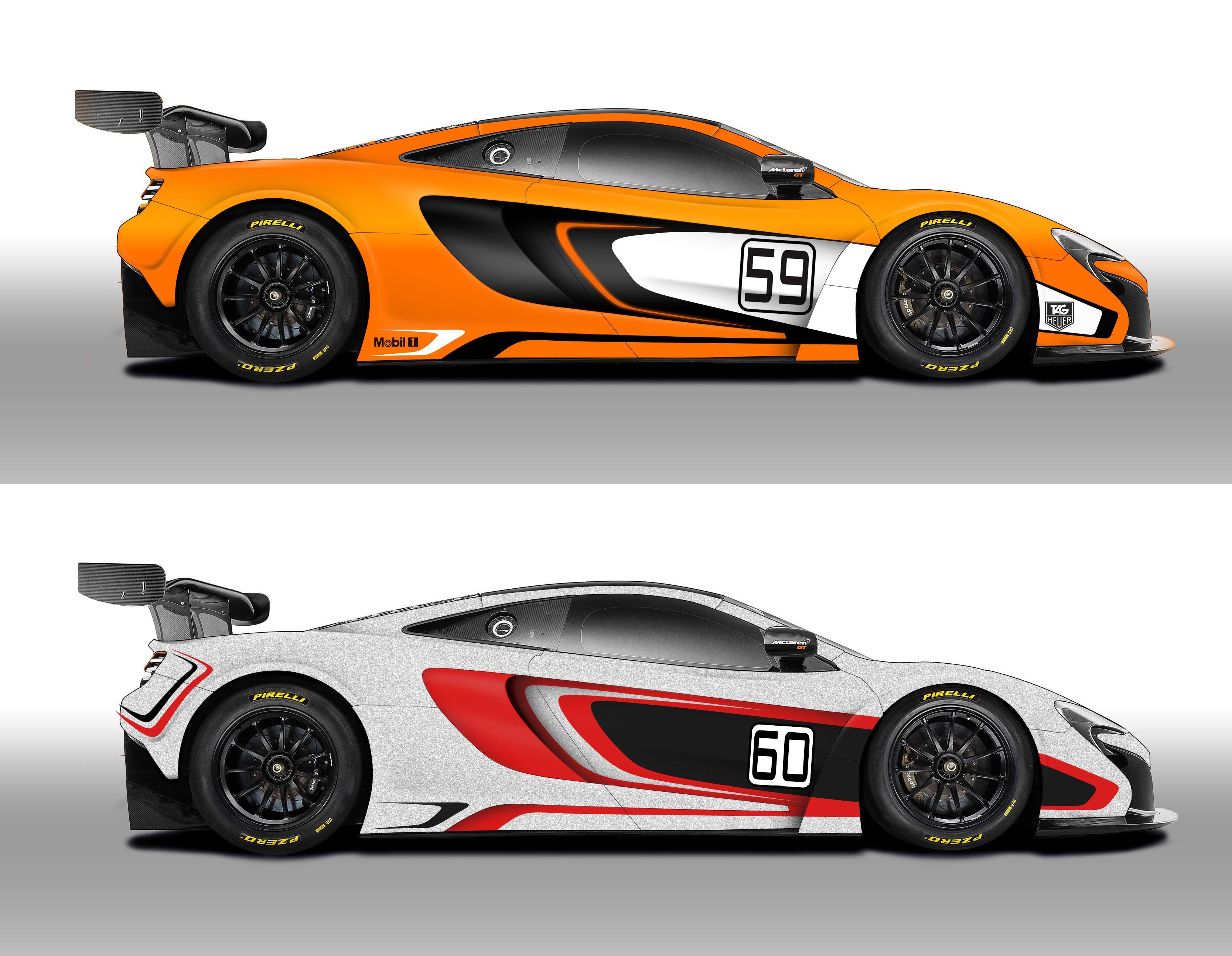 McLaren GT: due macchine alla 2014 GULF 12 HOUR