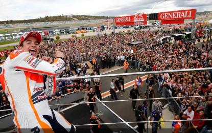 MotoGP: Marquez, gran finale con record