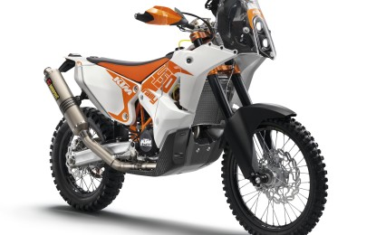 ACERBIS in sella alla KTM 450 Rally Replica
