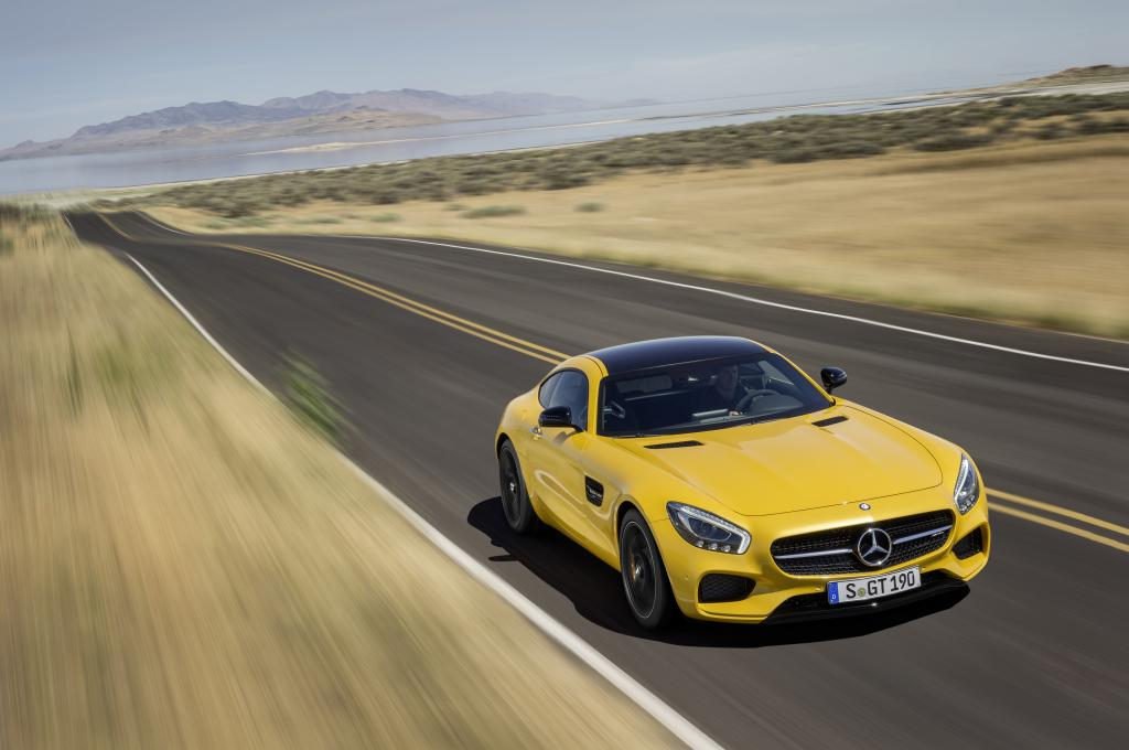 Nuova Mercedes-AMG GT