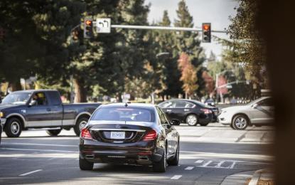 Mercedes e la guida autonoma: una realtà