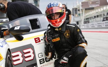 Lamborghini Super Trofeo: l'ultima pole è di Bortolotti