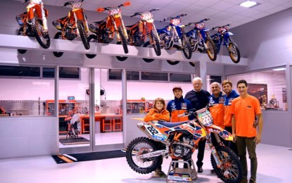 FMI: Sesti in visita al KTM De Carli Racing Junior Team