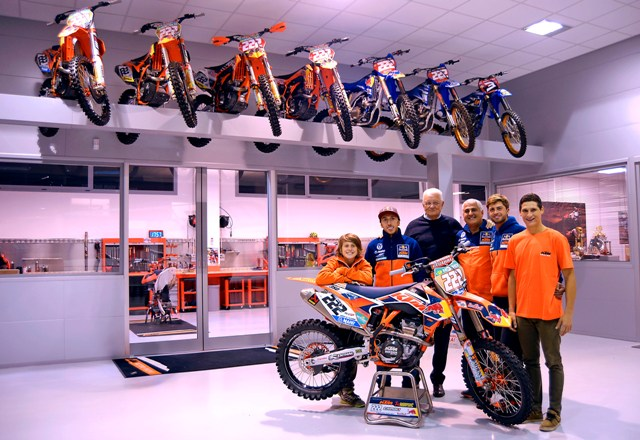 FMI: Sesti in visita al KTM De Carli Racing Junior Team