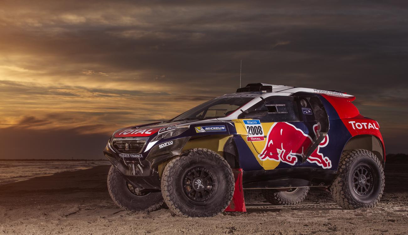 Peugeot 2008 DKR pronta all'attacco della Dakar!