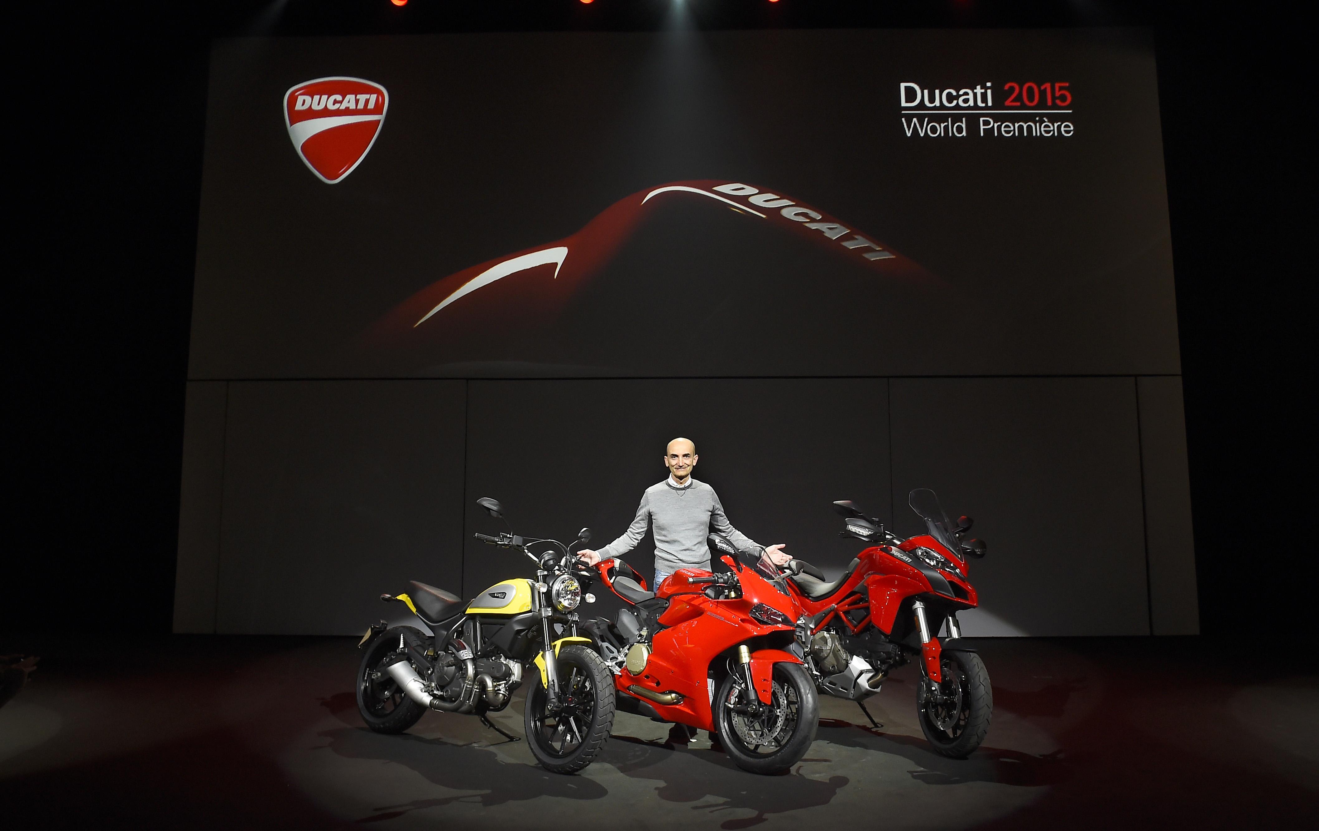 Ducati 2015 World Première: live alle 17.15!