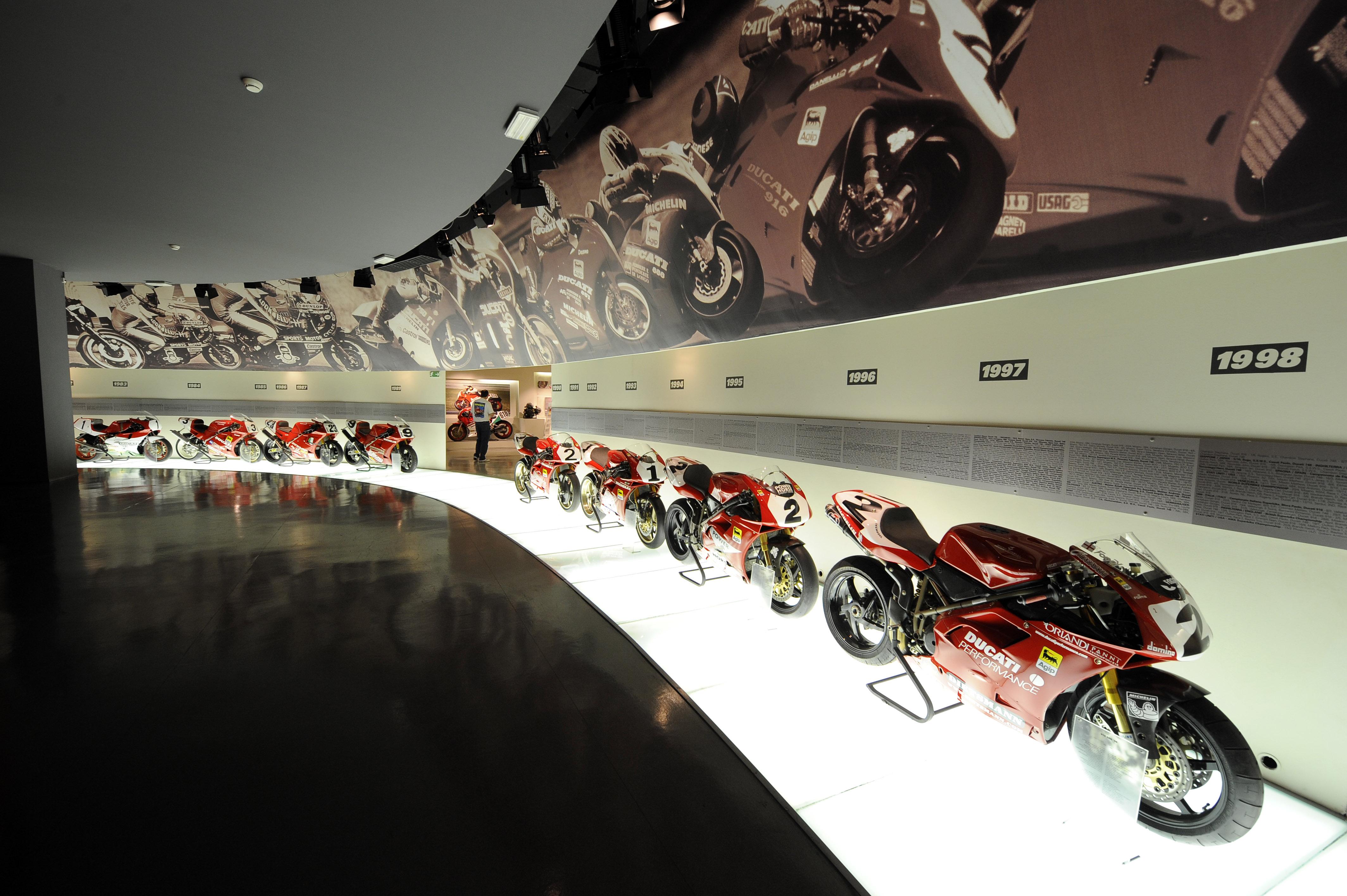 Ducati: 26 anni di successi Superbike al Motor Show