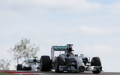 USA: Lewis vince di forza e di testa, il 5° GP consecutivo