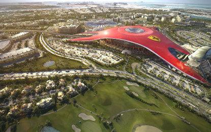 Abu Dhabi e la magia del Ferrari World