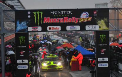 Monza Rally Show: partiti!