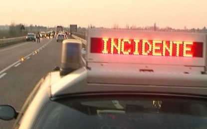 ACI-ISTAT: diminuiscono gli incidenti