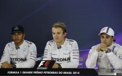 Brasile: la conferenza stampa post-qualifiche