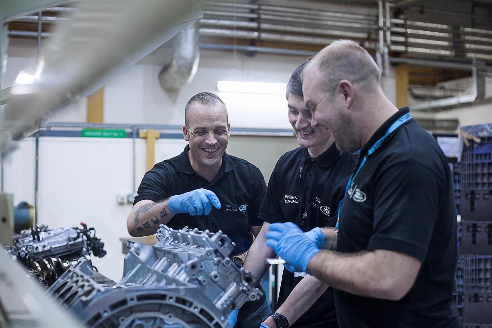 Jaguar Land Rover cerca nuovi apprendisti