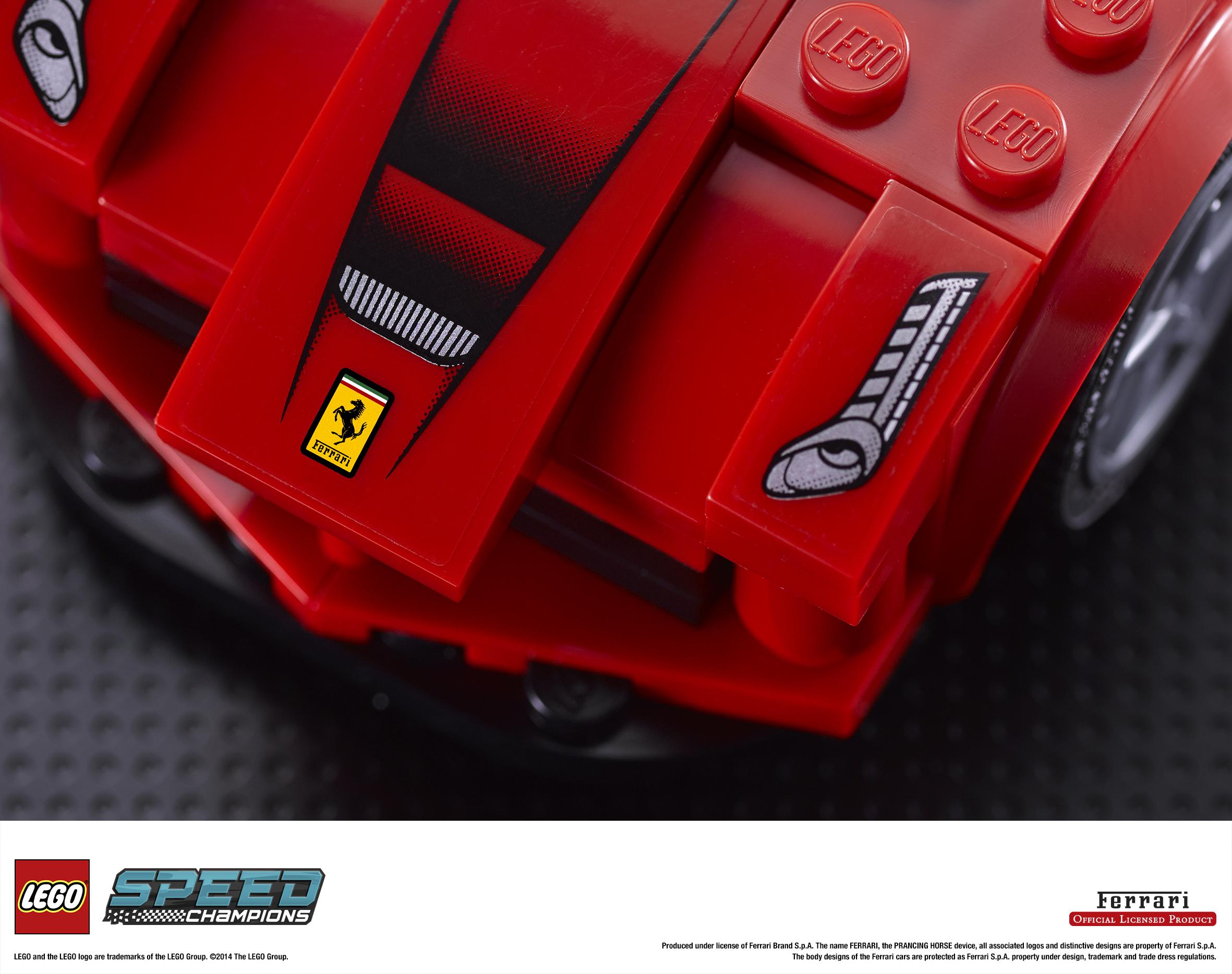LEGO ricostruisce i miti da corsa!