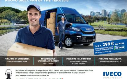 """""""Missione compiuta. Nuovo Daily. Van of the Year 2015"""""""