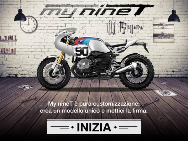 """EICMA: BMW Motorrad e il configuratore virtuale """"My nineT"""""""