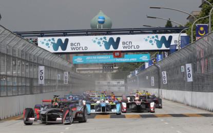 Renault elettrizza la pista di Putrajaya