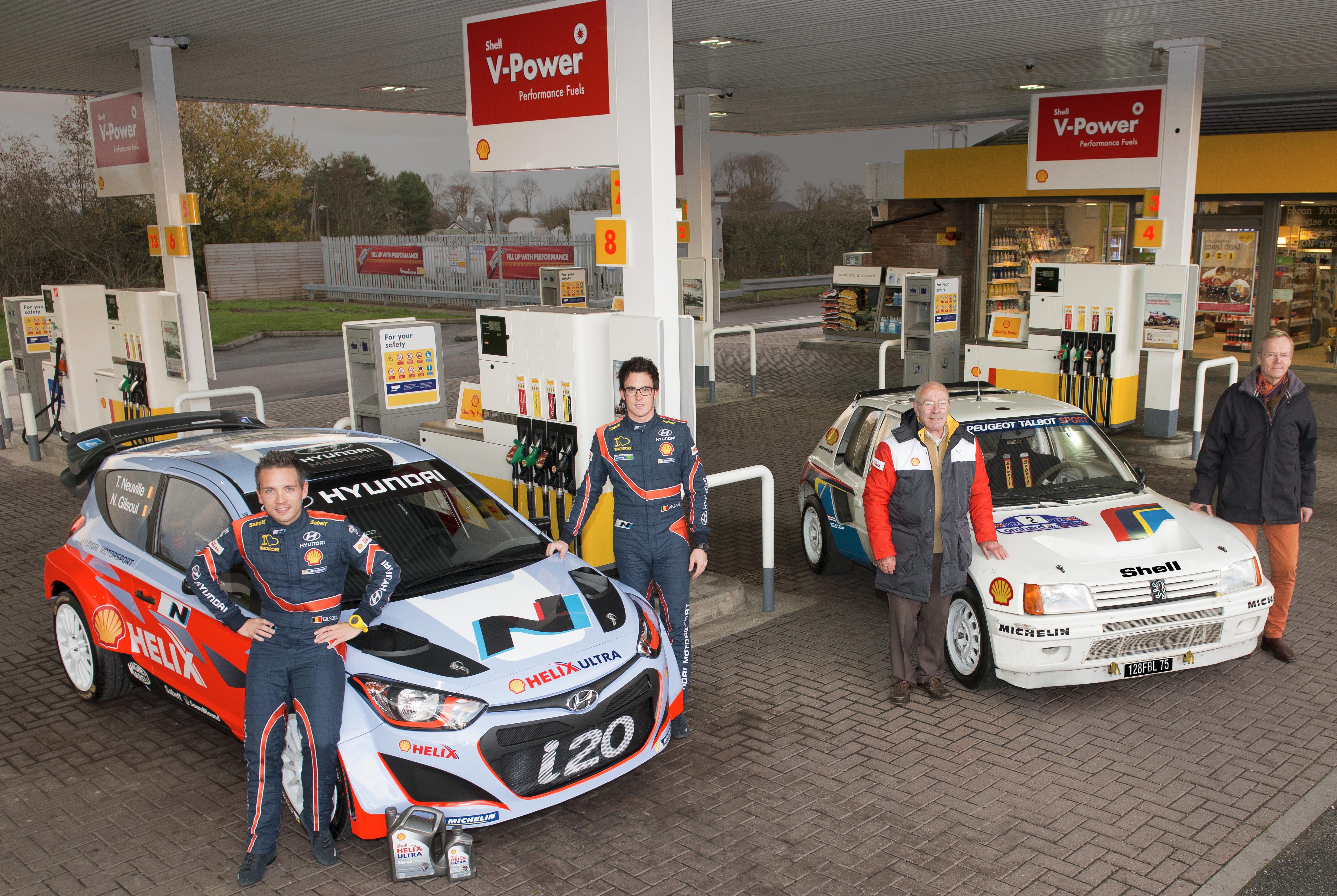SHELL celebra il WRC passato e futuro