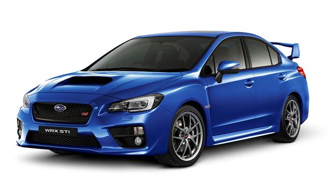 Subaru WRX STI premiata in Australia