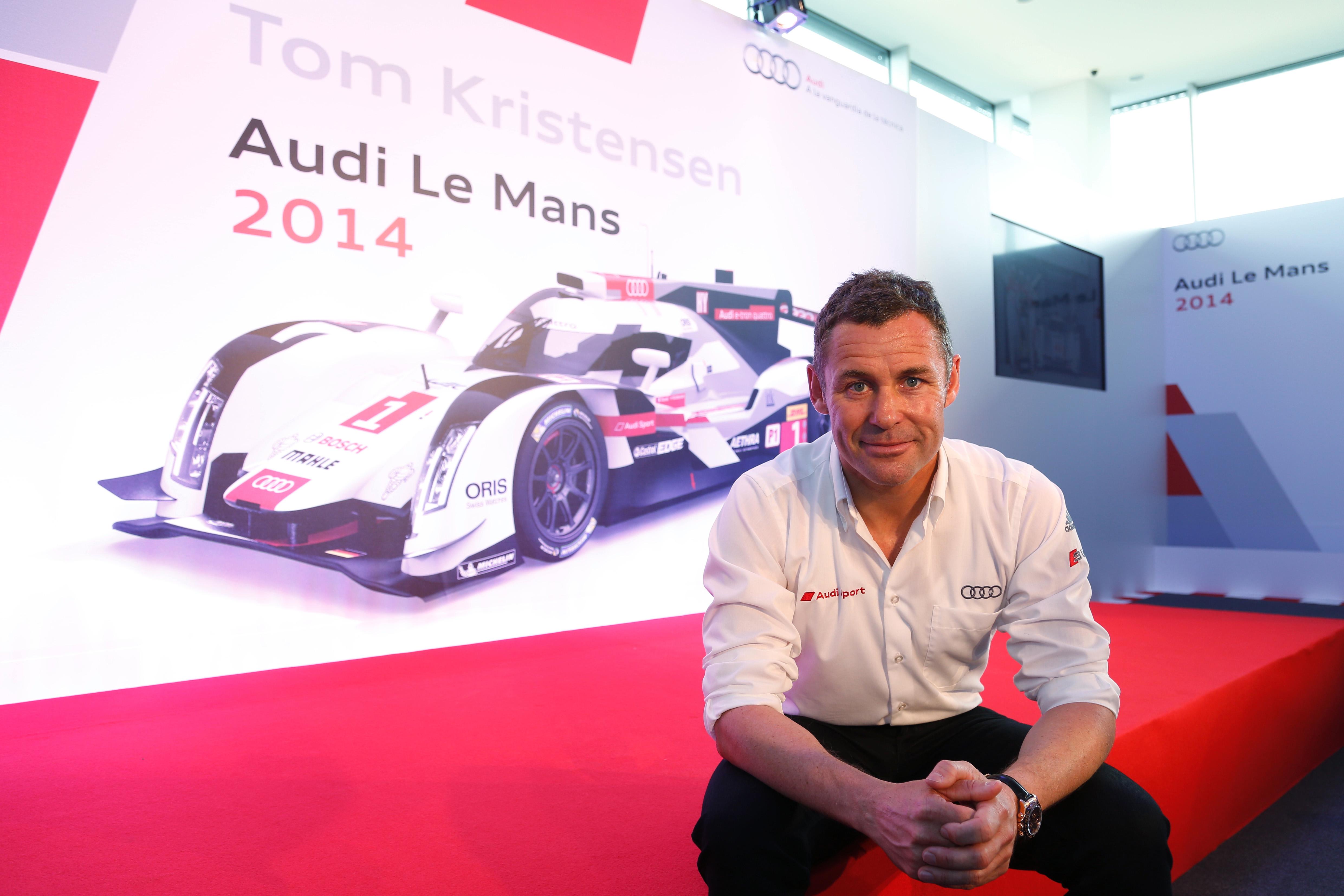 Tom Kristensen in pole con Eurosport per Le Mans