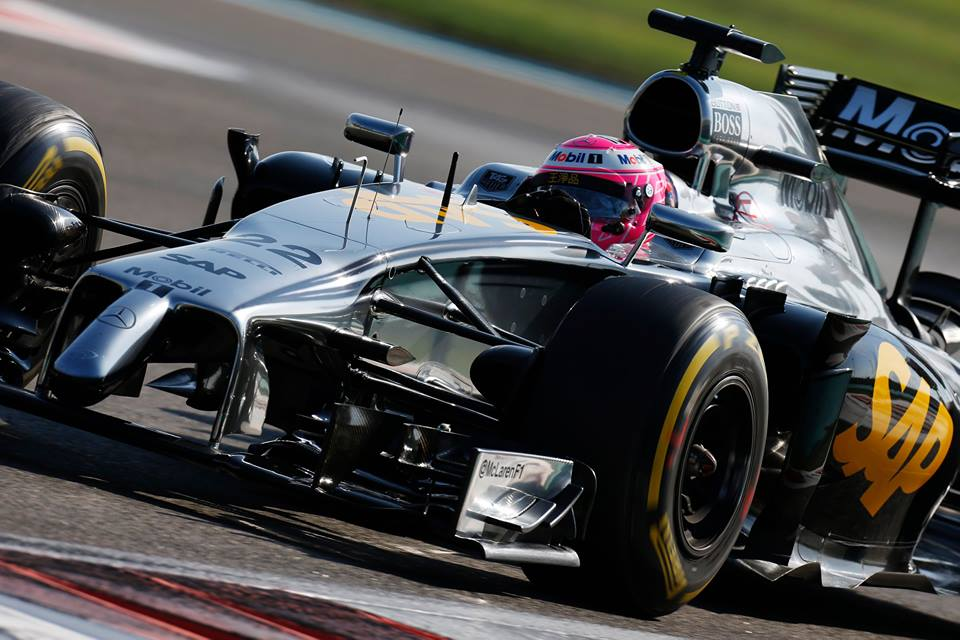 McLaren: cambio di livrea nel 2015