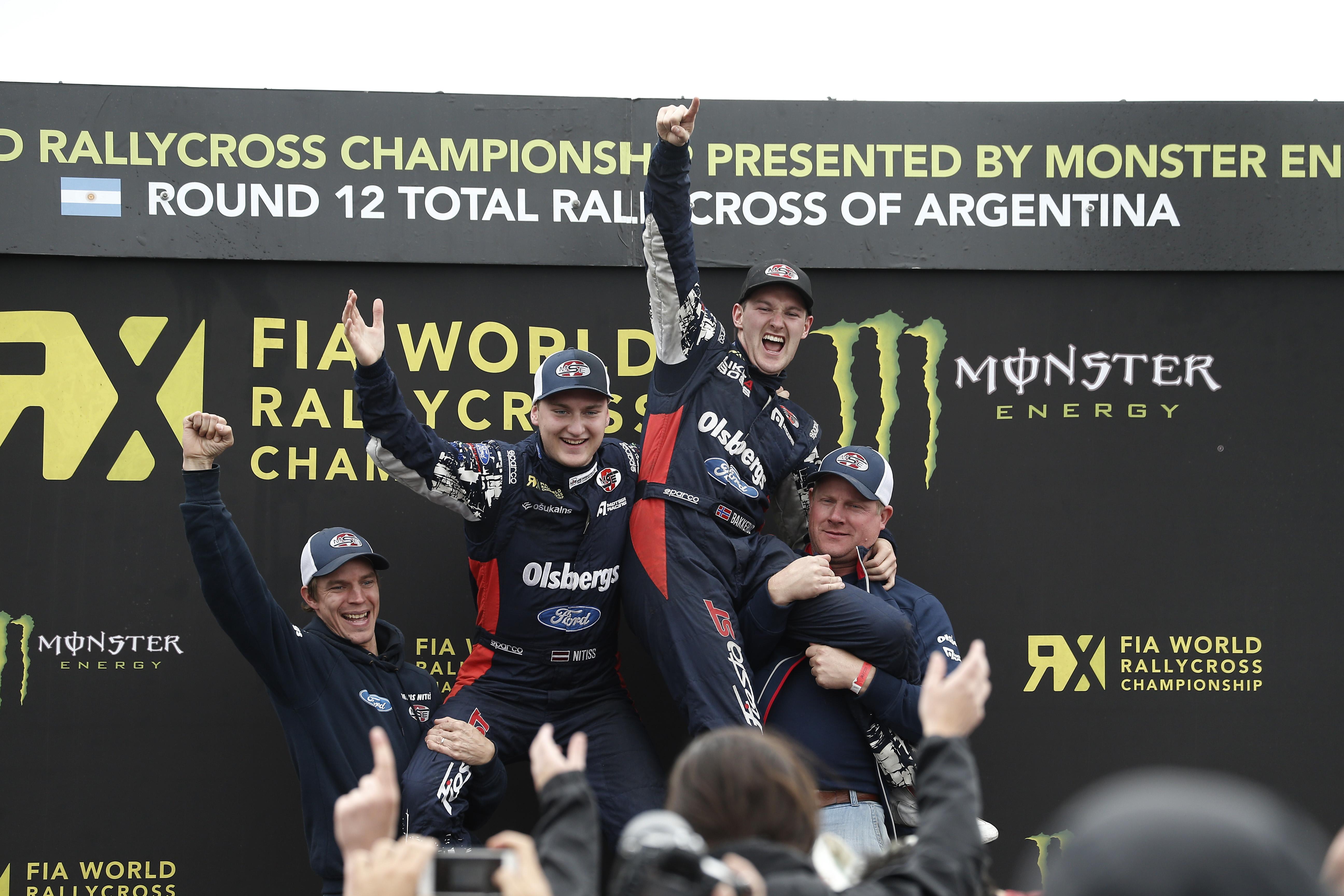 FIA RX: in Argentina Solberg vince, Titolo per la Ford Olsbergs MSE