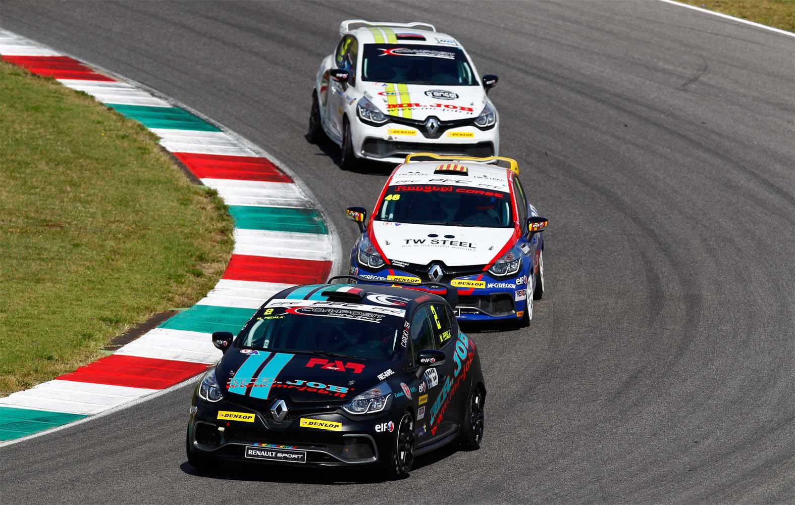 Renault Clio Cup Italia: novità per i montepremi 2015