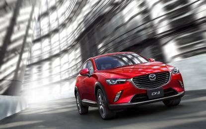 Nuova Mazda CX-3 al debutto mondiale