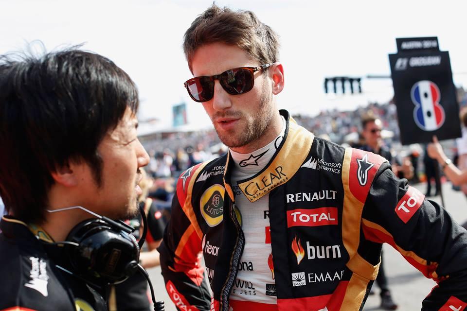 Lotus F1 conferma Romain Grosjean per il 2015