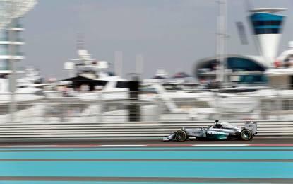 Abu Dhabi: il venerdì è di Lewis