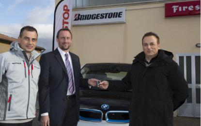 Bridgestone: il vincitore della BMW i3, First Stop e promo