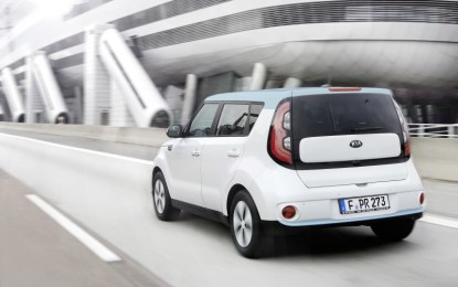 KIA Soul ECO-electric: stile e design con 0 emissioni
