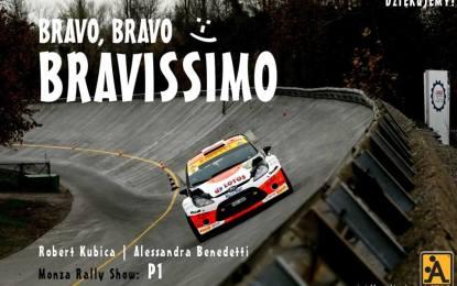 Kubica conquista Monza e il suo pubblico
