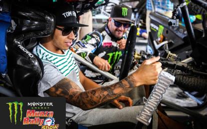 Lewis Hamilton al Monza Rally Show