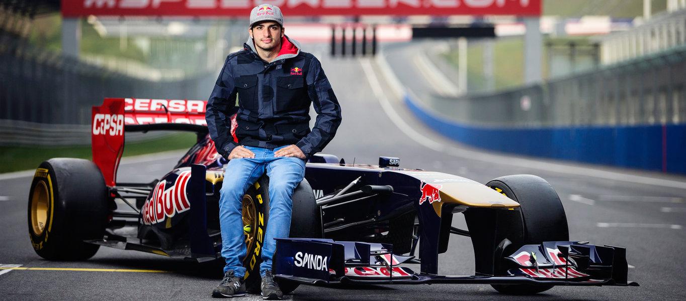 Carlos Sainz Jr titolare Scuderia Toro Rosso nel 2015