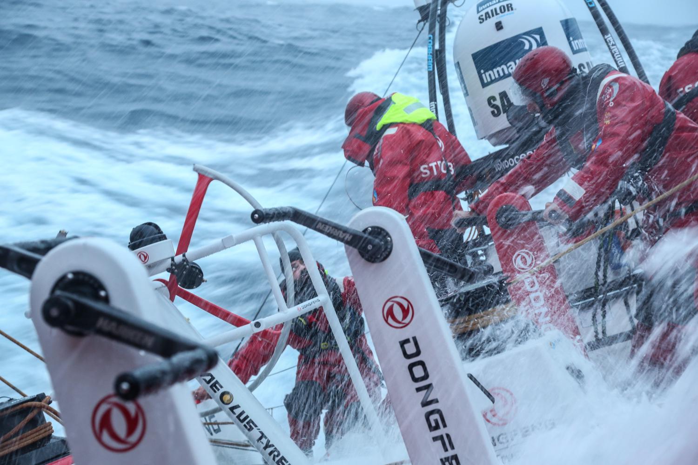 Volvo Ocean Race: il gioco su fa duro…