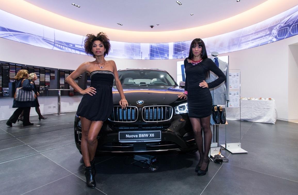 """BMW Roma: """"Gioielli in Mostra"""" e la X6"""