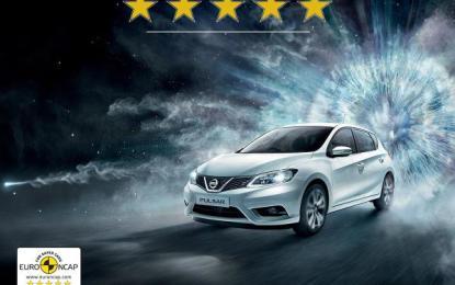 Nissan: 5 stelle anche per Pulsar
