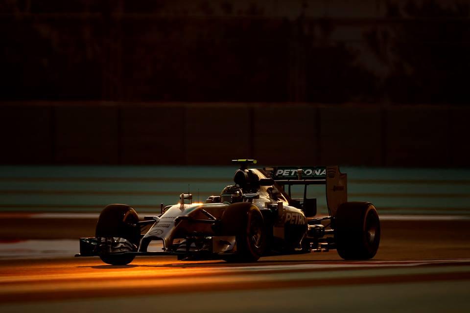 Abu Dhabi: è di Nico l'ultima pole 2014